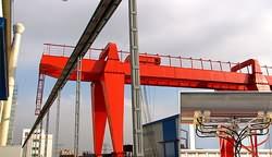 造船厂HXPnR-H-1000A 单极铝合多外壳室个安全滑线现场